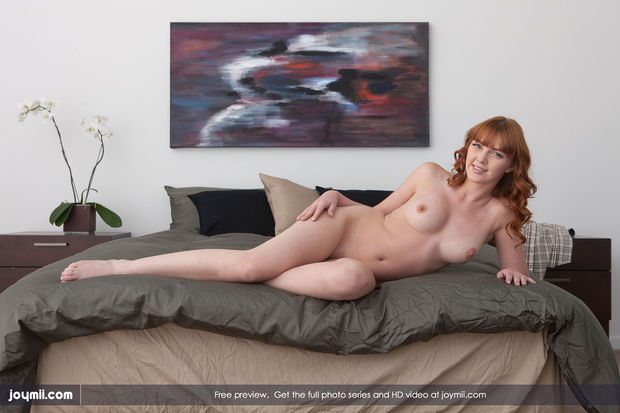 Maria needs some company; Babe Hot Red Head