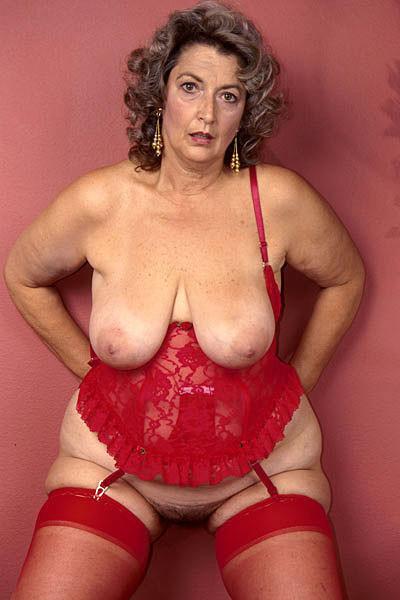 Bbw big tits lingerie