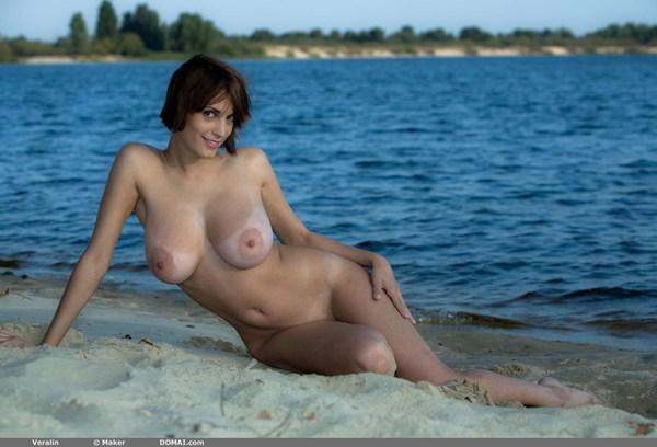 Veralin; Big Tits Brunette