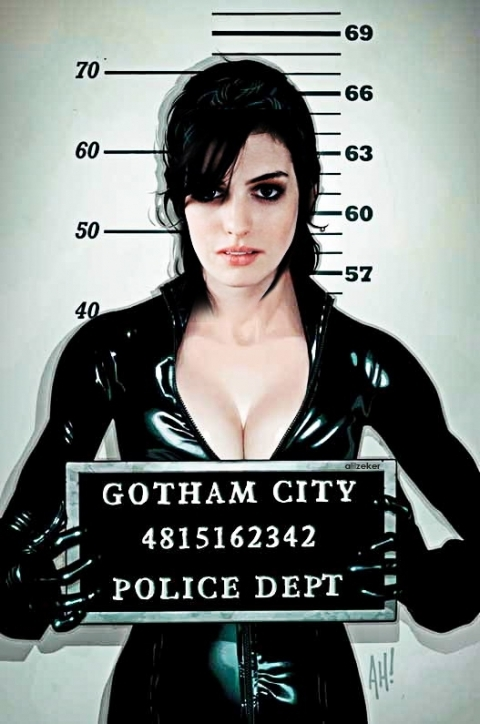 Anne Hathaway Catwoman Dark Knight Rises; Big Tits Celebrity