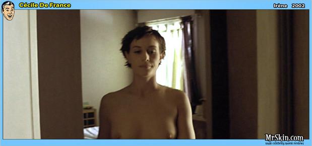 Cecile De Franec topless; Celebrity