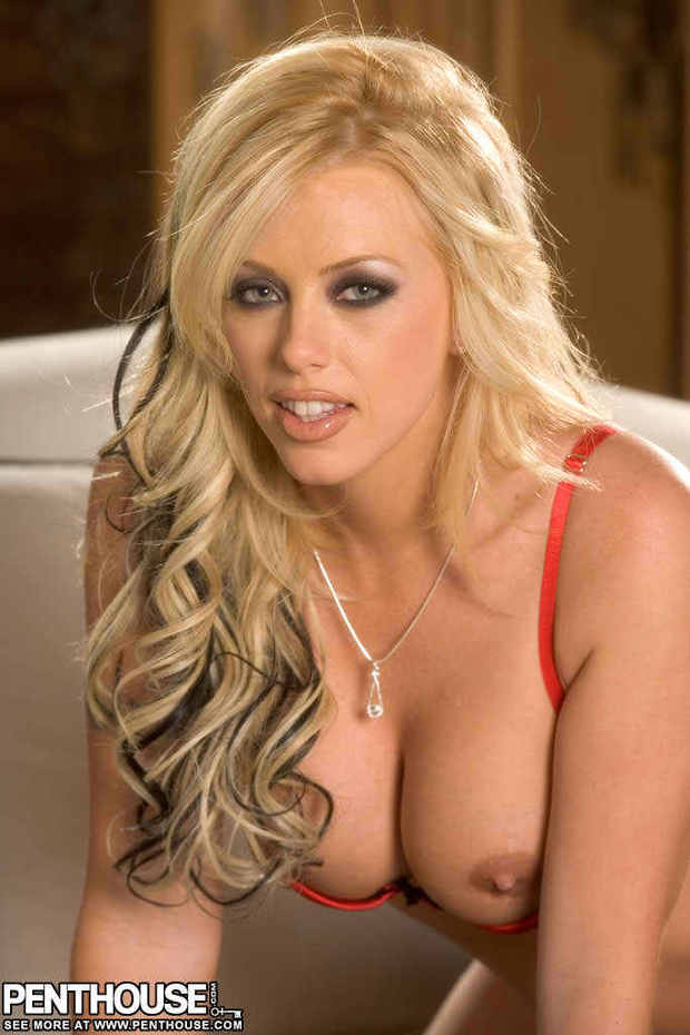 Brittney Skye looking hot; Babe Big Tits Blonde Hot Lingerie Pornstar
