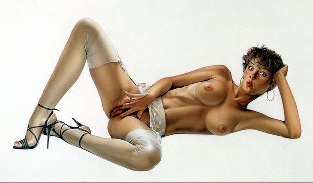 ; Brunette Hentai Pussy