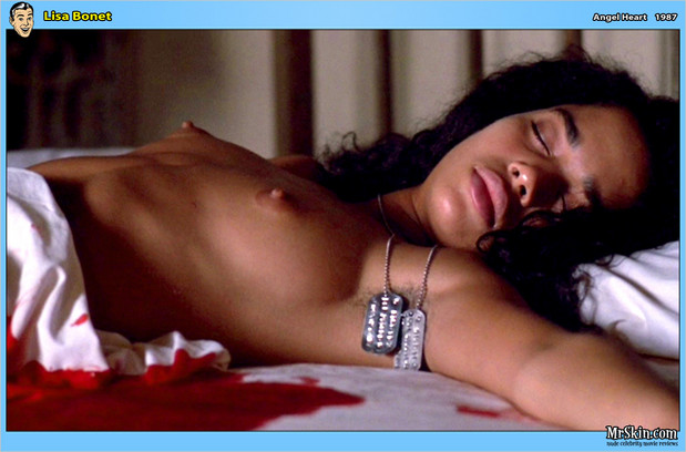 Lisa Bonet topless; Celebrity