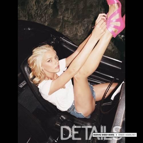 Amber Heard legs; Celebrity