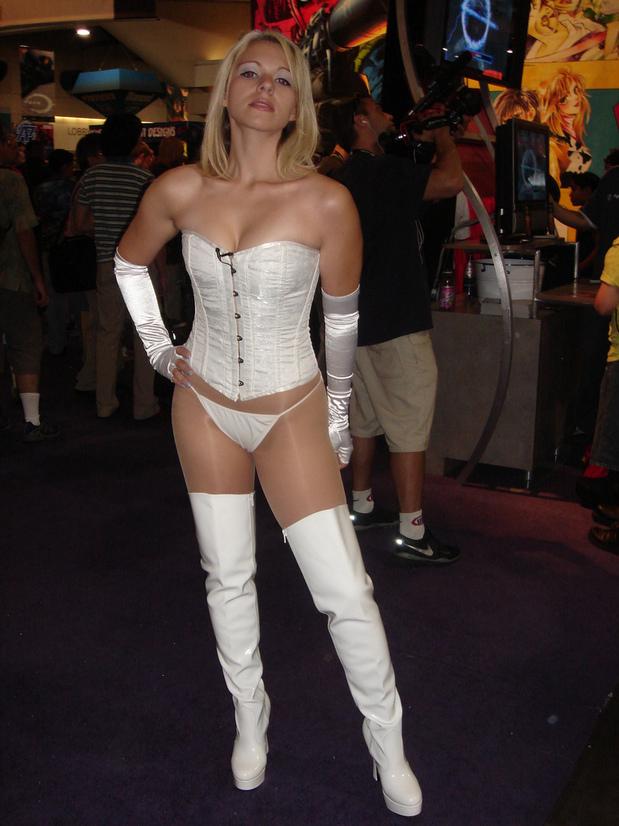 Cute cosplayer; Uniform