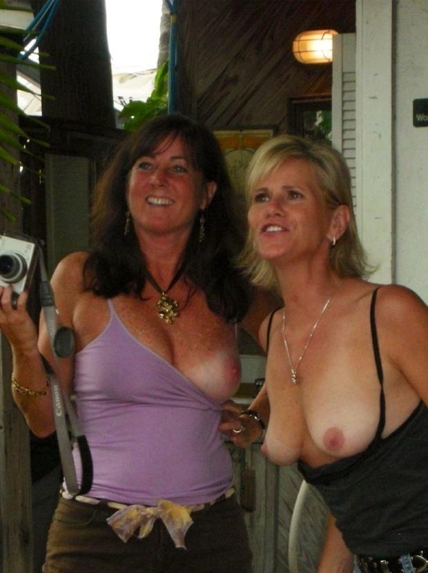 ...; Big Tits Blonde Brunette MILF