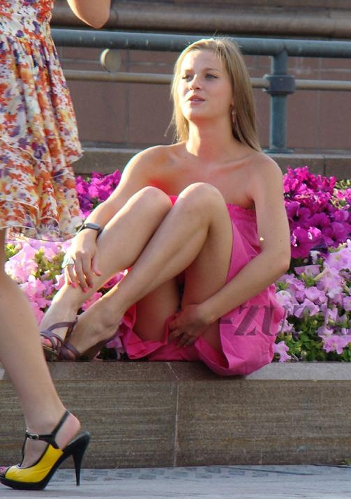 Underwear Upskirt Auto Show Upskirt; Amateur Public