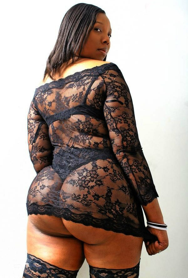 Thick and Lace; Ass BBW Ebony