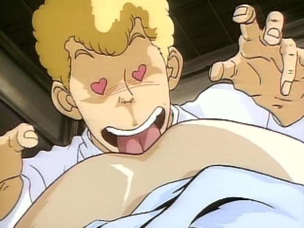 ...; Asian Blonde Cunnilingus Hentai Hot Teen