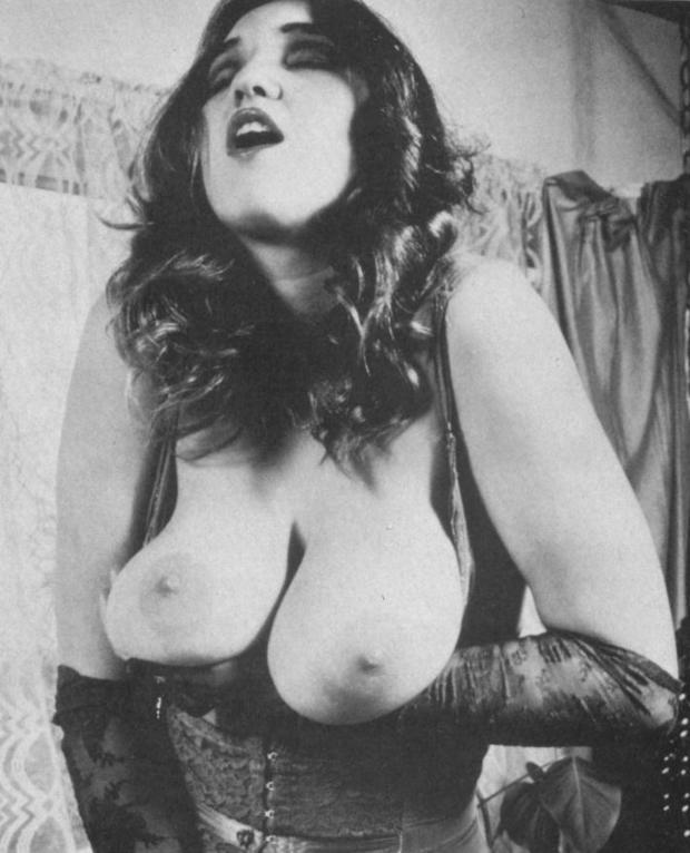 ; Big Tits Brunette Pornstar Vintage