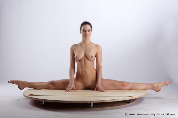 Art nude pose
