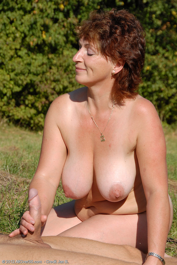 mature hot milf handjob