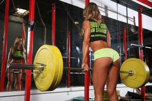 Fit bodies 'r' hot; Ass Athletic
